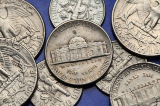"Silver Jefferson ""Wartime Nickels"" Can Still Be Found In Circulation"