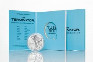 Limited Mintage Stardust Silver Terminator Round!