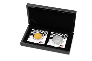 Formula One Coins Race to Fans' Heart