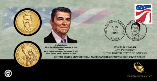 Reagan Coins Bring Presidential $1 Coin, First Spouse Gold Coins Series To An End