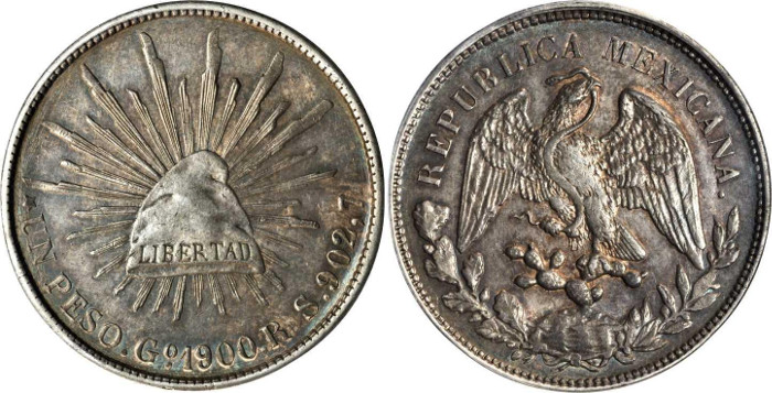 Silver Mexican Pesos Are Beautiful American Alternative To