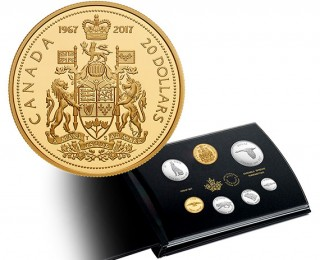 canada-revives-classic-designs-in-new-150th-anniversary-proof-coin-set