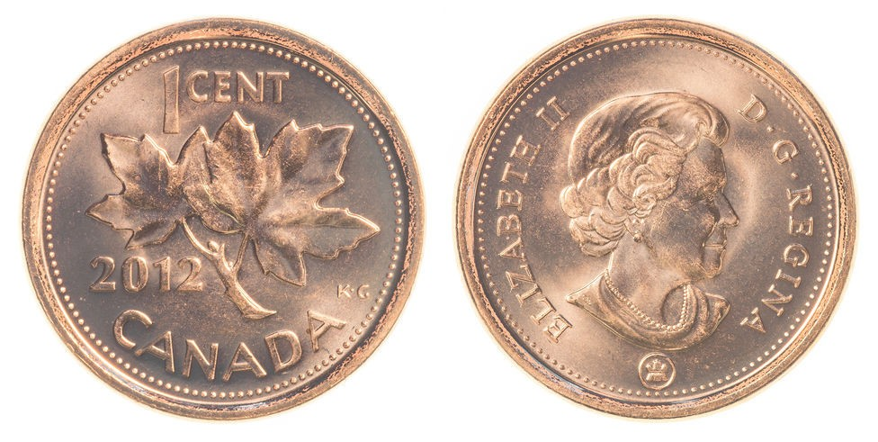 What Happened To The Canadian Penny The Coin Values Blog
