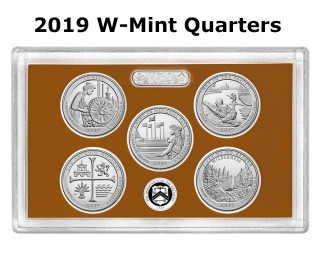 Tips For Finding 2019 W-Mint Quarters