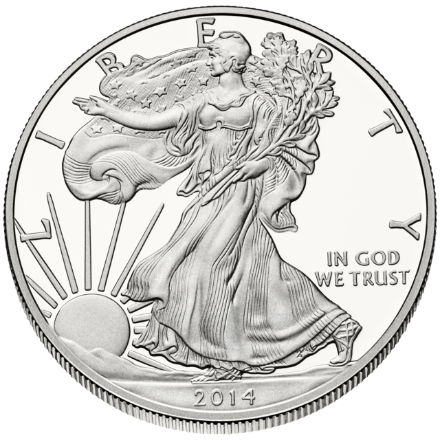 2014 a record year for american silver eagle coins year - Chemise coin plastique transparent ...