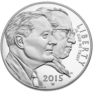 2015 March of Dimes Special Silver Set, Reverse Proof Roosevelt Dime Excite Collectors