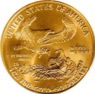 U.S. Mint American Eagle Coins – Bullion Sales for October 2014