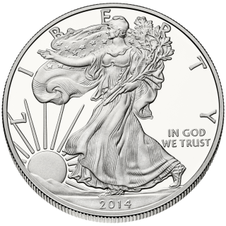 U.S. Mint American Eagle Coins – Bullion Sales for Week Ending December 5, 2014