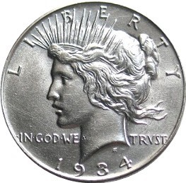 eBay's Top 25 Peace Silver Dollar Sales from September 2014