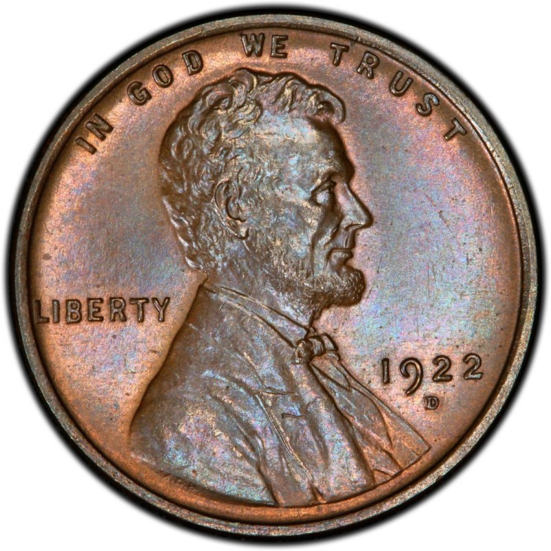 1922 Lincoln Wheat Pennies Values And Prices Past Sales