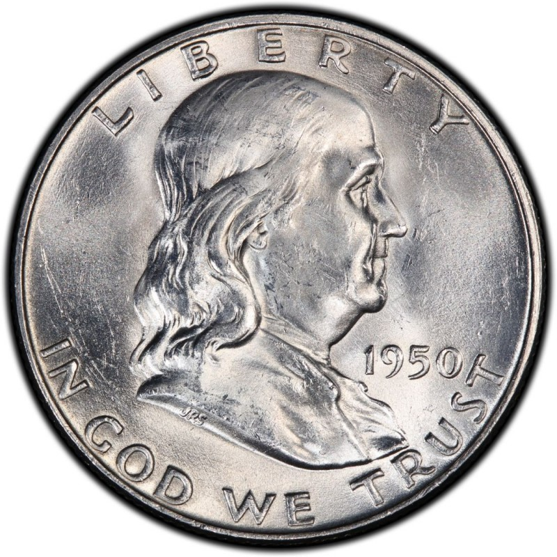 1950 Franklin Half Dollar Values And Prices Past Sales