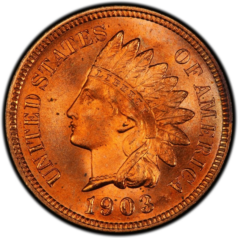 1903 Indian Head Pennies Values And Prices Past Sales