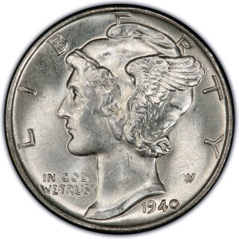 1940 Mercury Dime Values And Prices Past Sales