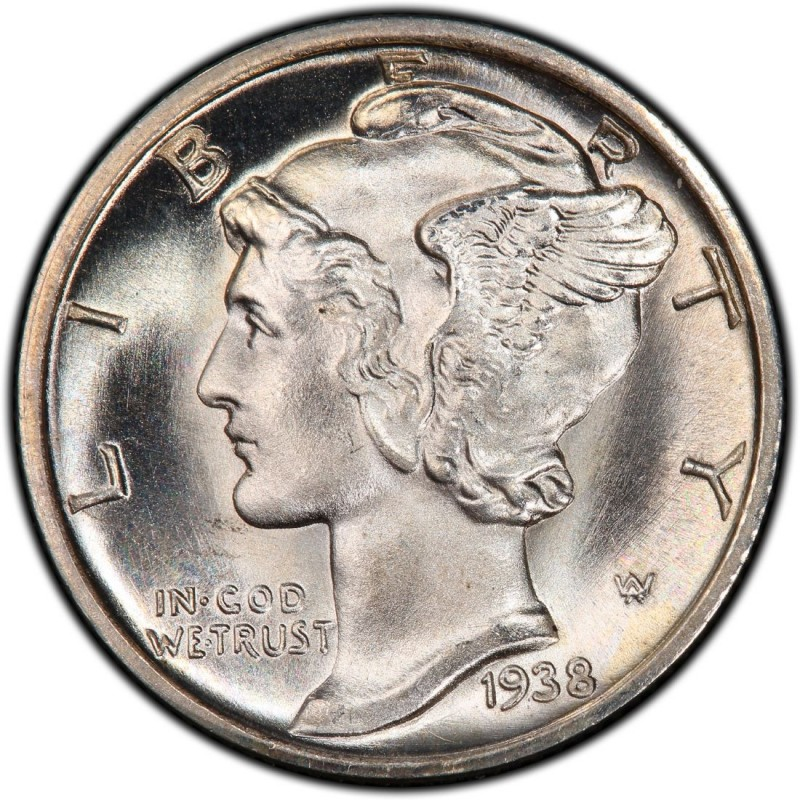 1938 Mercury Dime Values And Prices Past Sales