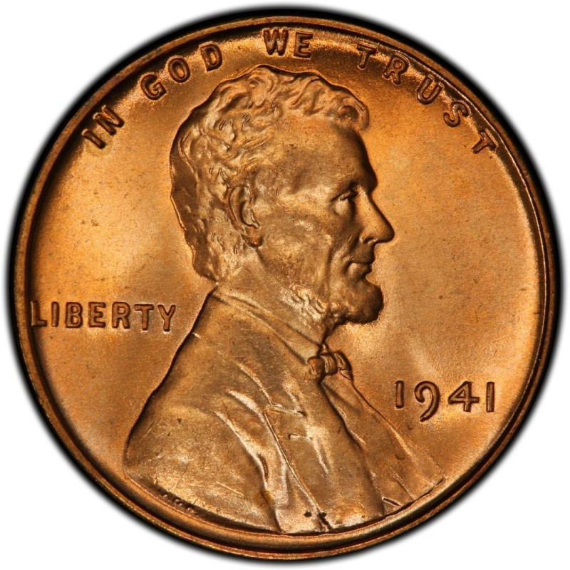 """ONE Roll of 50 1941  United States Lincoln /""""WHEAT/"""" Used//Circulated Pennies"""