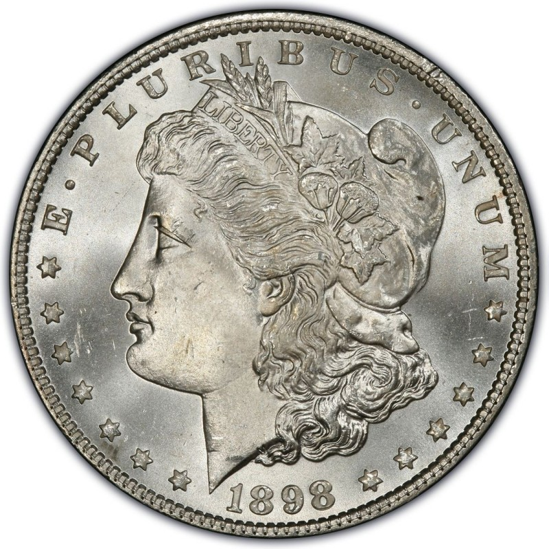 1898 Morgan Silver Dollar Values And Prices Past Sales