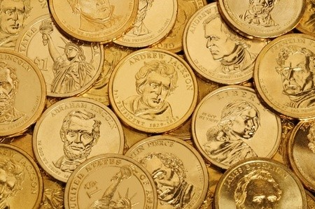 Dollar Coins Lot 50 Presidential US Dollars
