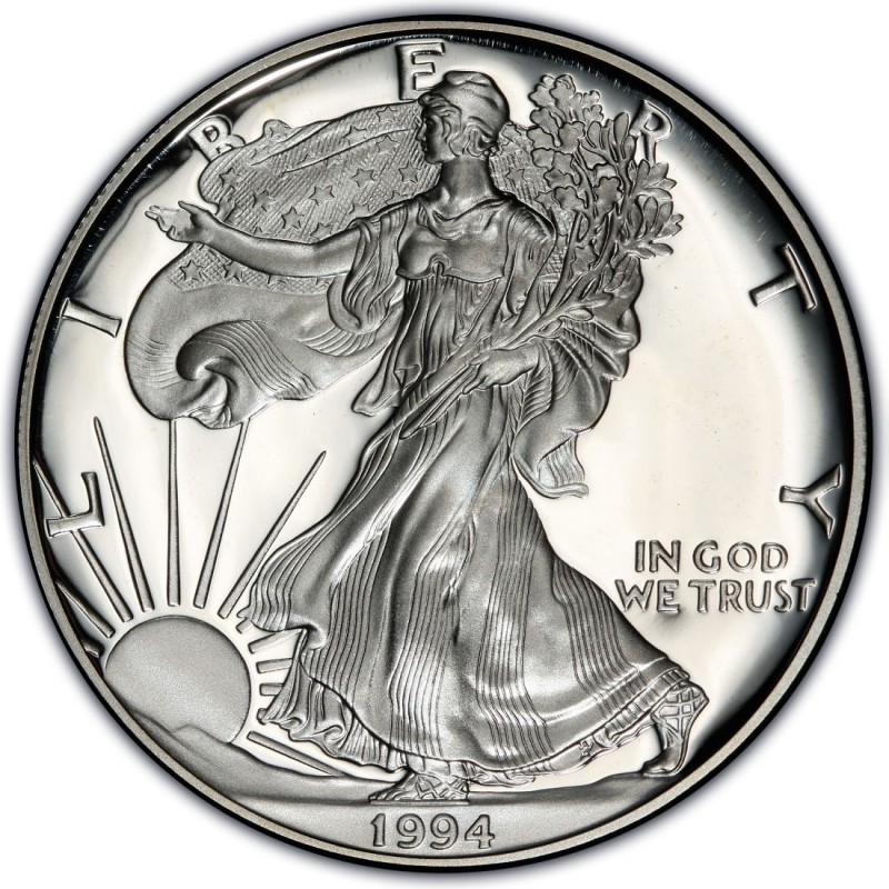 1994 American Silver Eagle Values And Prices Coinvalues Com