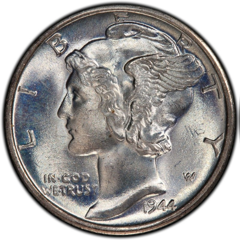 1944 Mercury Dime Values And Prices Past Sales