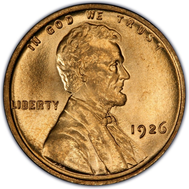 1926 Lincoln Wheat Pennies Values And Prices Past Sales