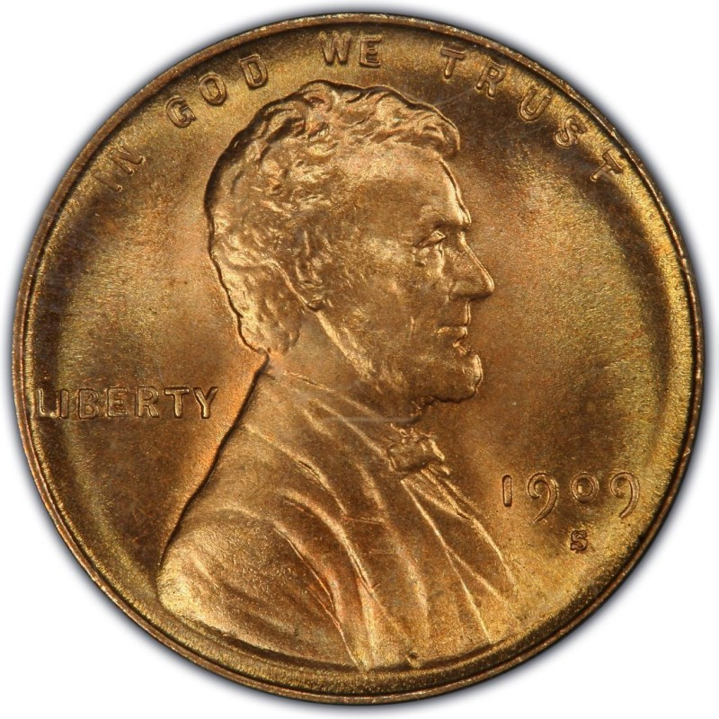 1909 Lincoln Wheat Pennies Values And Prices Past Sales