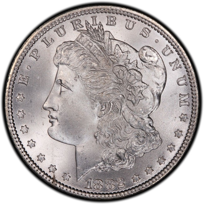 1882 Morgan Silver Dollar Values And Prices Past Sales