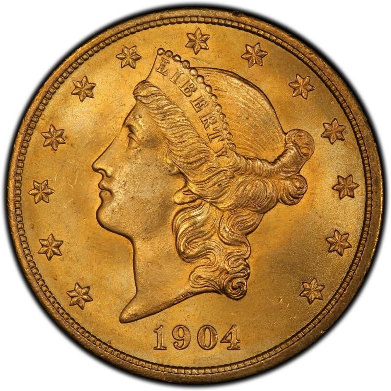 1904 Liberty Head Double Eagle