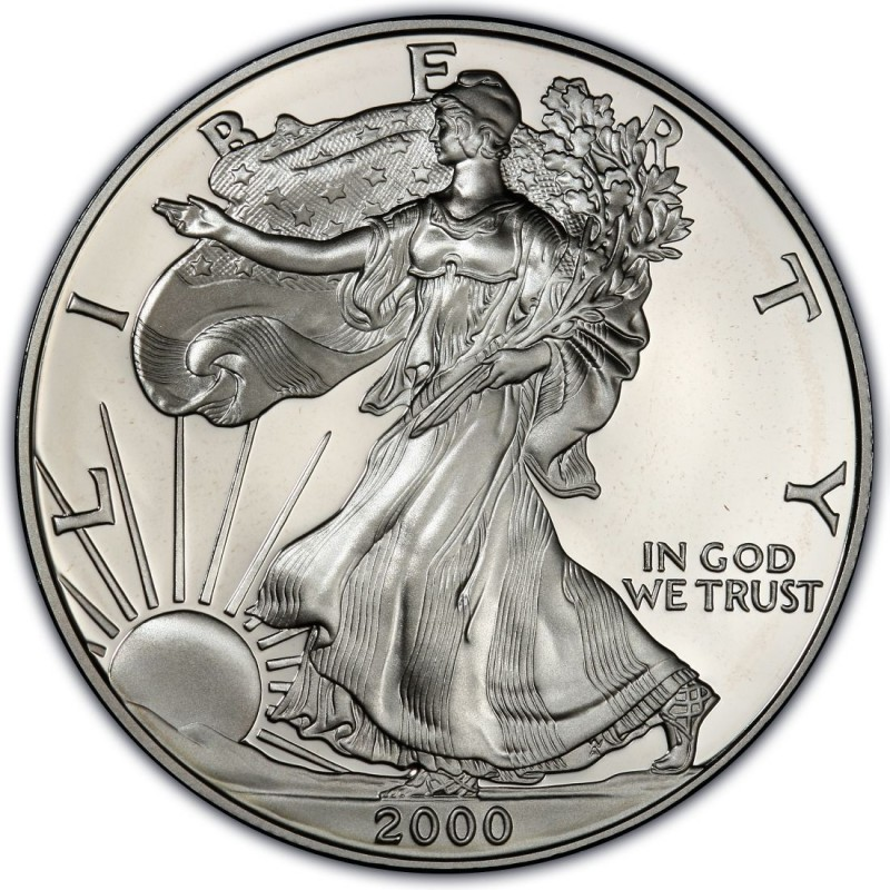 2000 American Silver Eagle Values And Prices Coinvalues Com