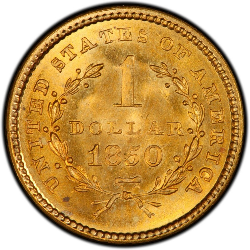 1850 Liberty Head Gold 1 Coin Values And Prices Past