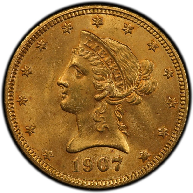 1907 Liberty Head 10 Gold Eagle Values And Prices Past