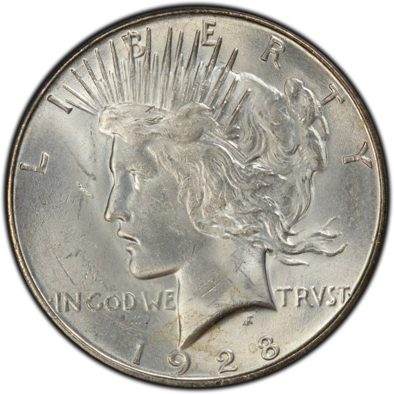 1928 Peace Dollar Values And Prices Past Sales