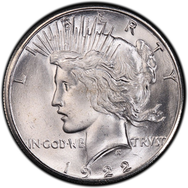 1922 Peace Dollar Values And Prices Past Sales