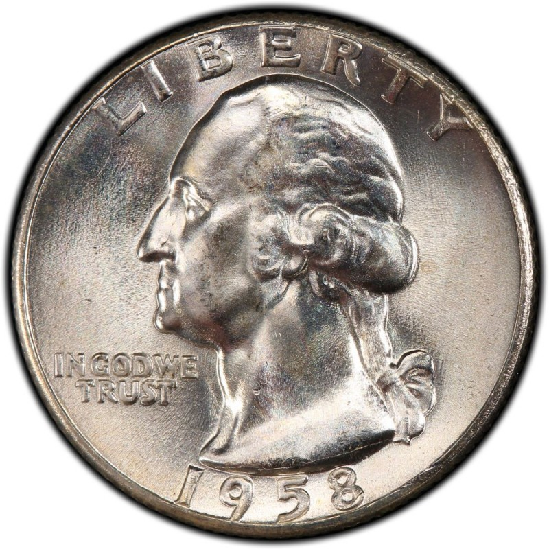 1958 Washington Quarter Values And Prices Past Sales