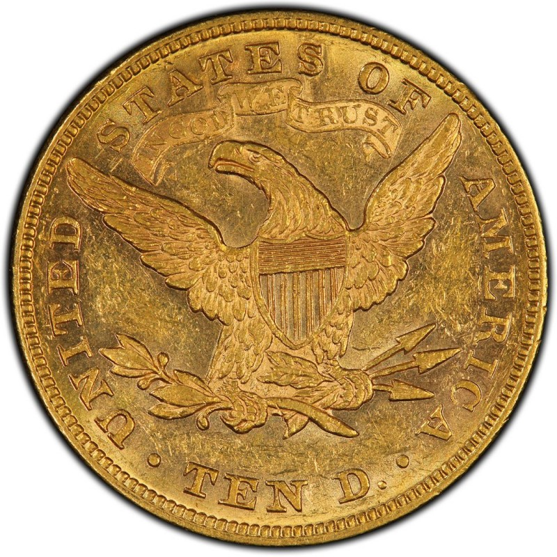 1871 Liberty Head 10 Gold Eagle Values And Prices Past