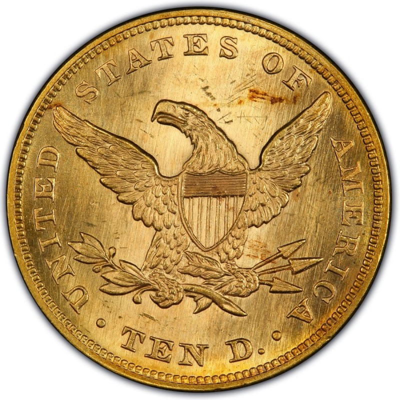 1860 Liberty Head 10 Gold Eagle Values And Prices Past