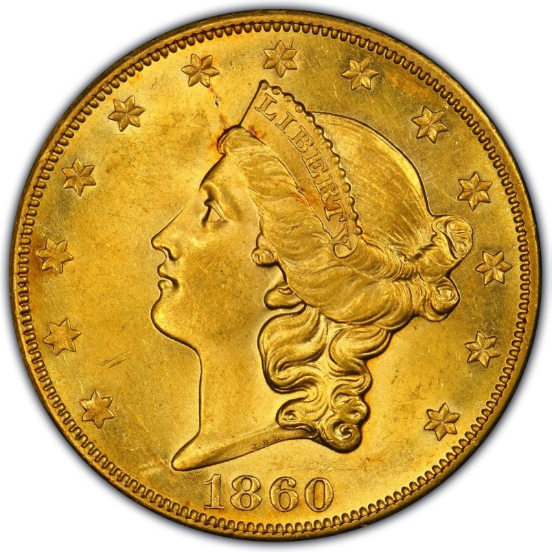 1860 Liberty Head Double Eagle Values And Prices Past