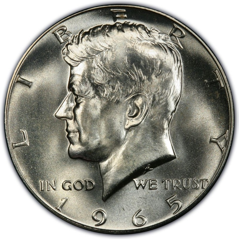 1965 Kennedy Half Dollar Values And Prices Past Sales