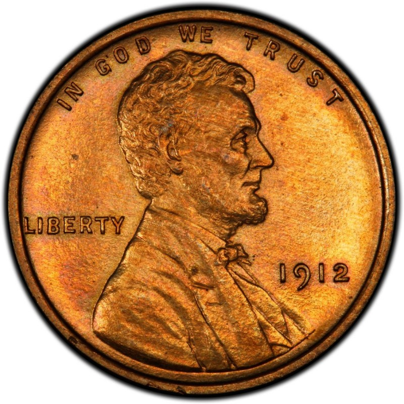 1912 Lincoln Wheat Pennies Values and Prices - Past Sales