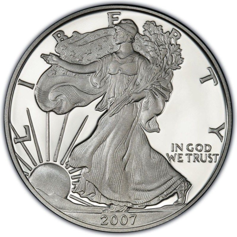2007 American Silver Eagle Values And Prices Coinvalues Com