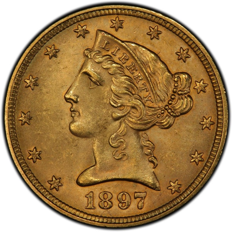 1897 Liberty Head Half Eagles Values And Prices Past