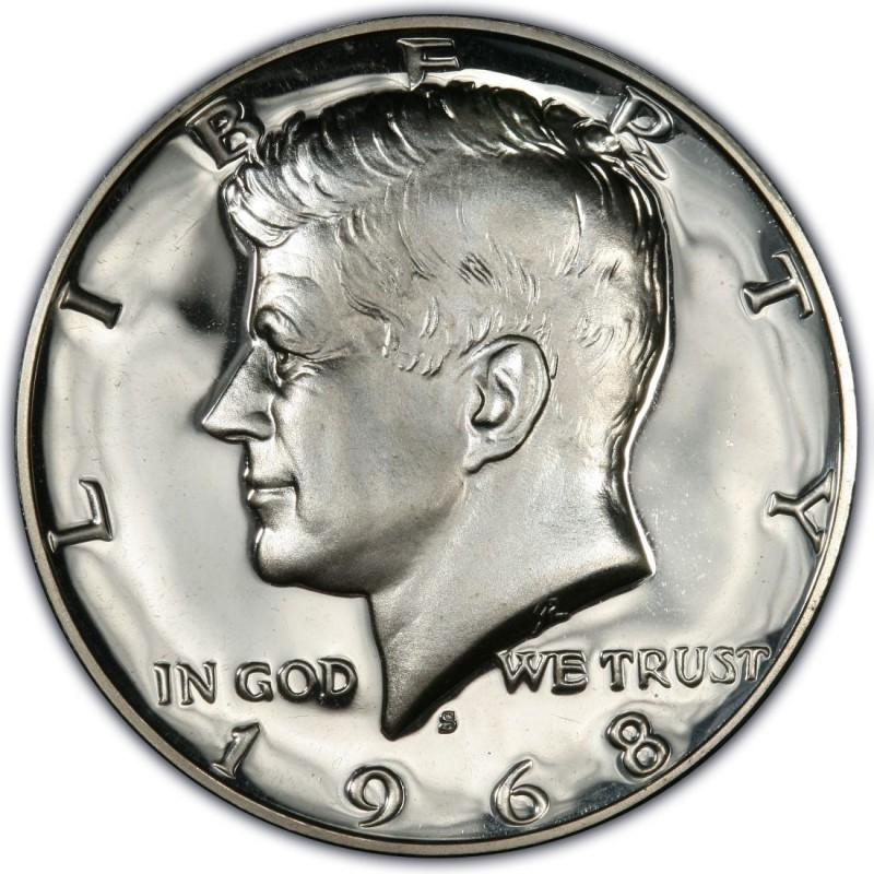 1968 Kennedy Half Dollar Values And Prices Past Sales