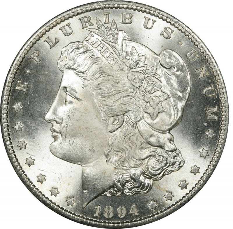1894 Morgan Silver Dollar Values And Prices Past Sales