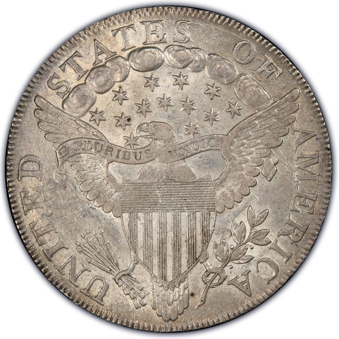 1798 Draped Bust Silver Dollar Values and Prices - Past