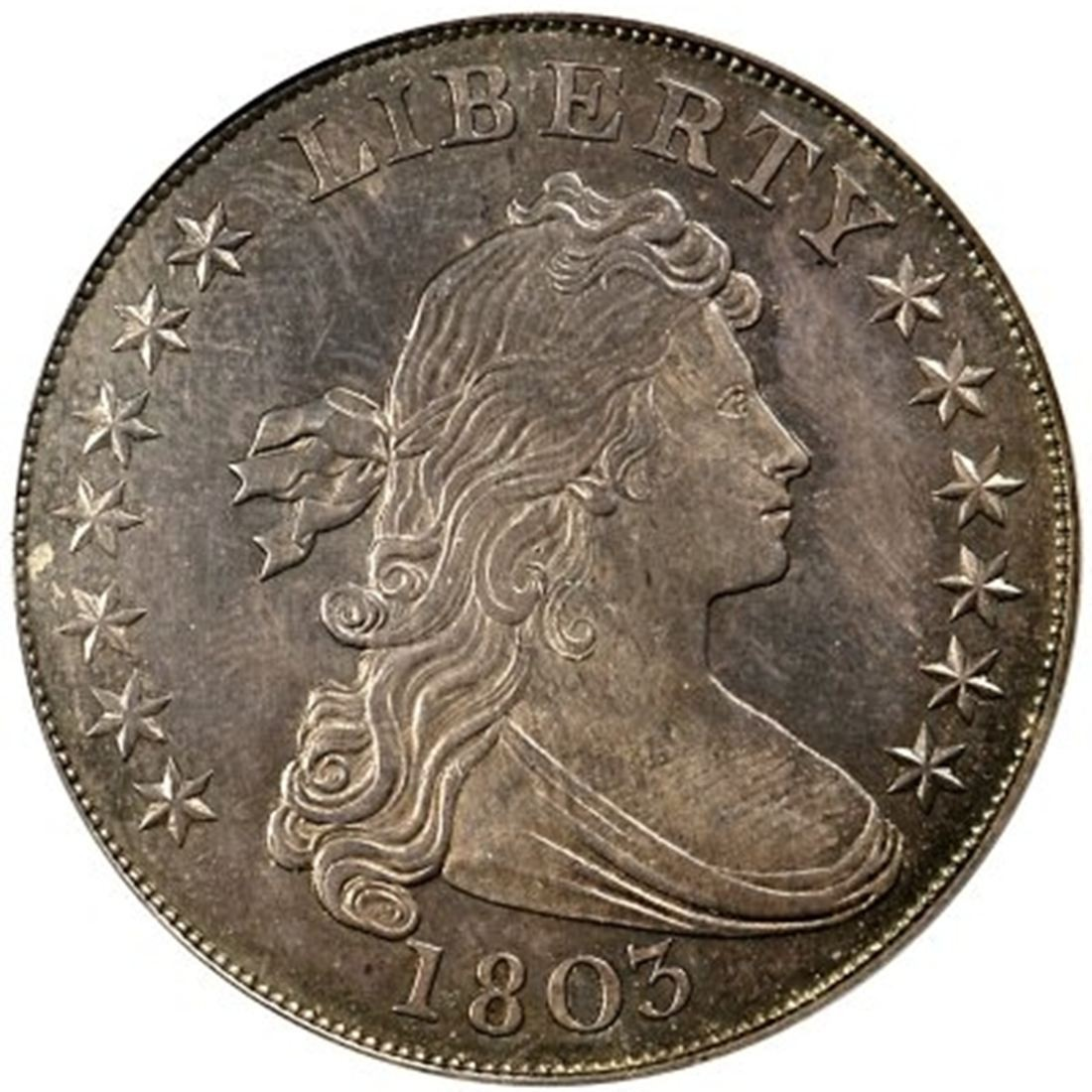 1803 Draped Bust Silver Dollar Values And Prices Past