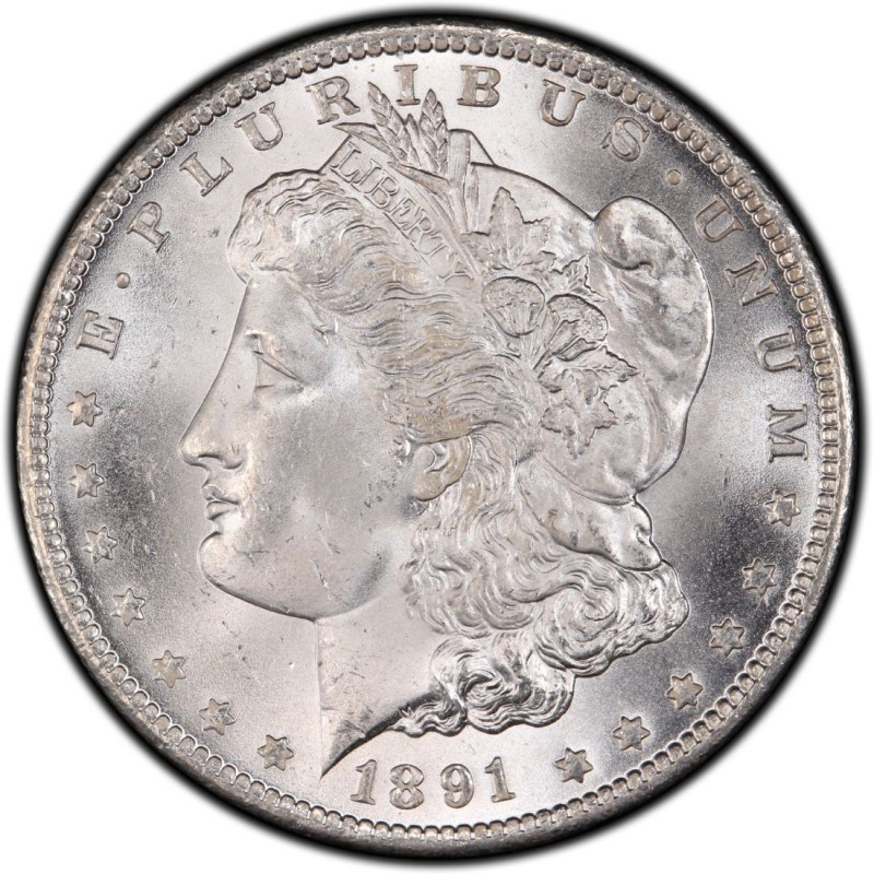 1891 Morgan Silver Dollar Values And Prices Past Sales