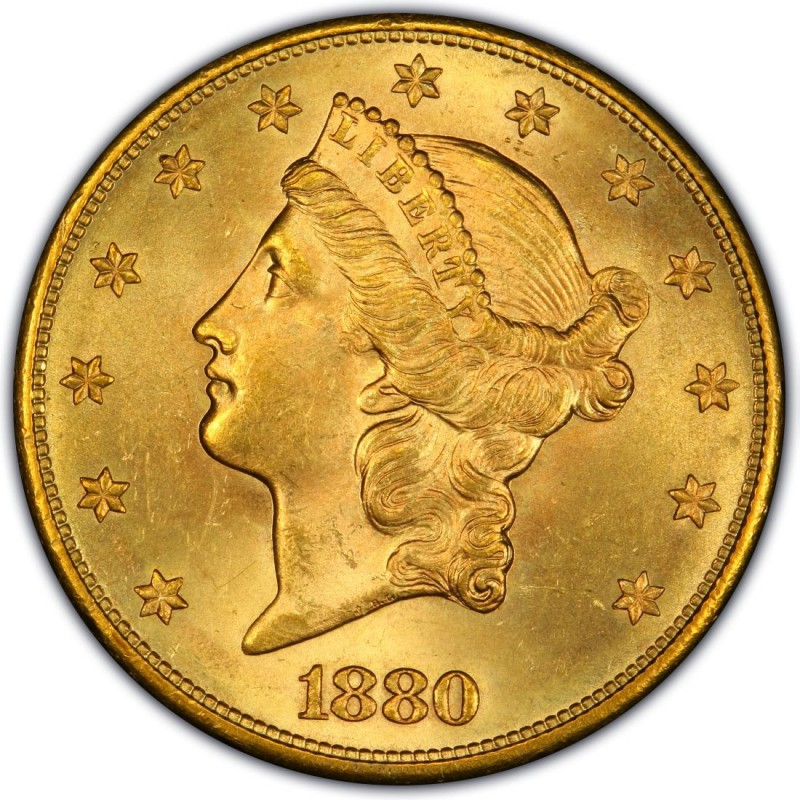 1880 Liberty Head Double Eagle Values And Prices Past