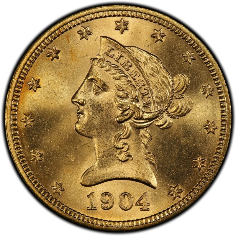 1904 Liberty Head 10 Gold Eagle Values And Prices Past