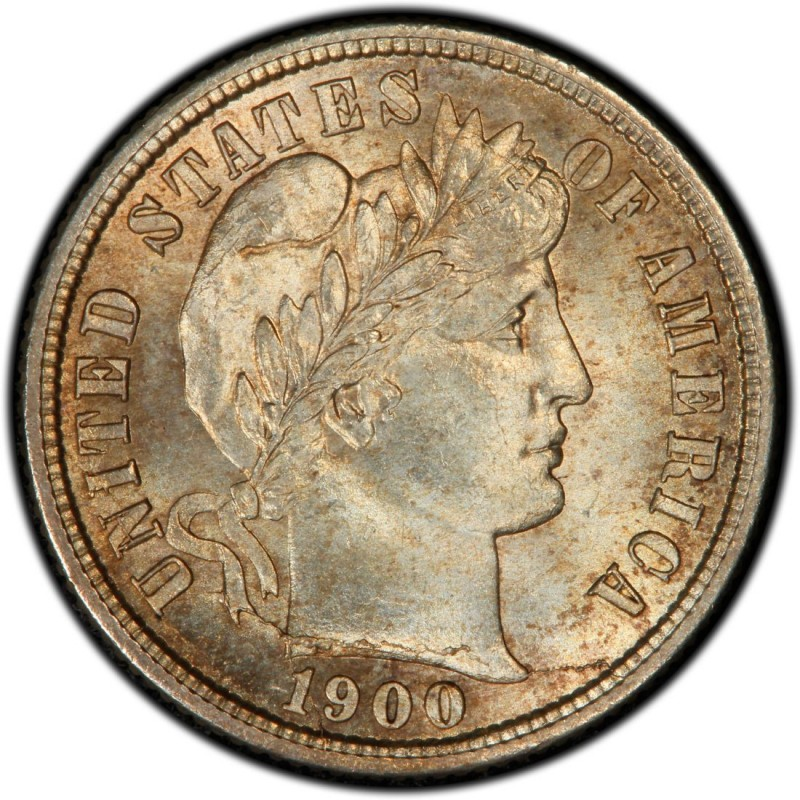 1900 Barber Dime Values And Prices Past Sales