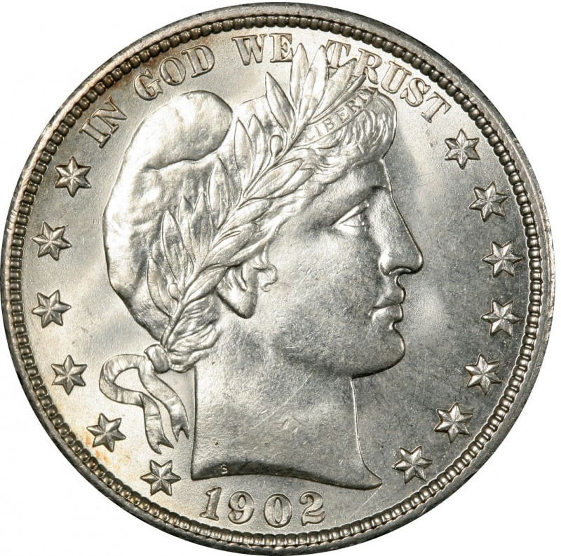 1902 Barber Half Dollar Values And Prices Past Sales