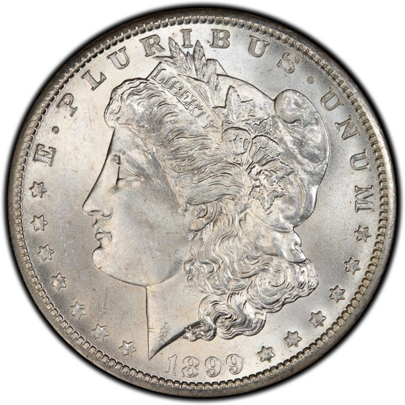 1899 Morgan Silver Dollar Values And Prices Past Sales